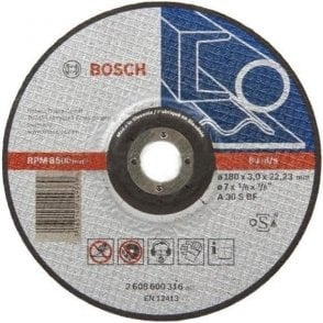 Bosch Metal Cutting Disc (Depressed Centre)