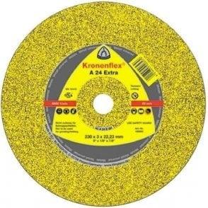 Klingspor A24 Extra Cutting Disc (Depressed Centre)