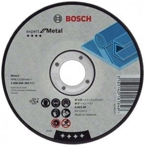Bosch Metal Cutting Disc (Flat Centre)