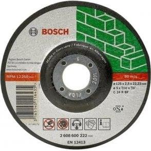 Bosch Stone Cutting Disc (Depressed Centre)