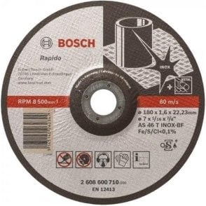 Bosch Inox Cutting Disc (Depressed Centre)