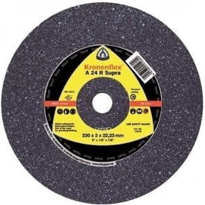 Klingspor A24R Supra Cutting Disc (Depressed Centre) (Box of 25)