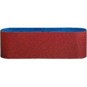 Bosch Red Wood Sanding Belt for Belt Sanders 75mm x 533mm (Pack of 3)