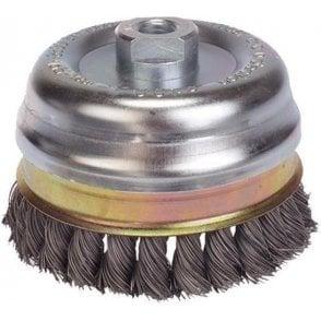 Lessmann Knot Cup Brush D100 x M14 x .50 Wire