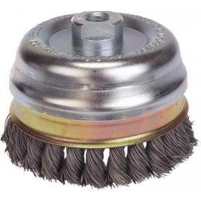 Lessmann Knot Cup Brush D120 x M14 x .50 Wire