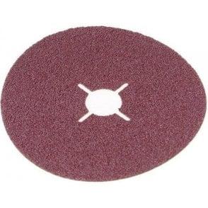 Flexovit Aluminium Oxide Fibre Sanding Disc 125mm