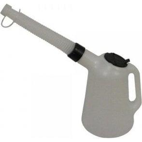 Wesco Polythene Oil Pourer with Flexi Spout 5ltr