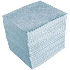 Oil Absorbent Pads Double Weight Bonded (Pack of 100)