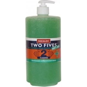 Rozalex Two Fives Anti-Bacterial Hand Cleanser 1ltr