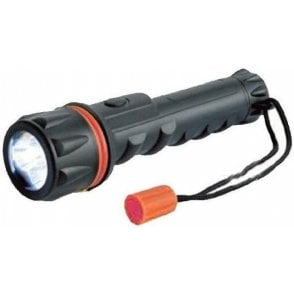 Teng Tools Rubber Hand Torch with 3 LED Lights