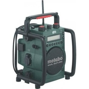 Metabo Starter Kit (Charger, Batteries, Cordless Lamp and Radio in Toolbag)
