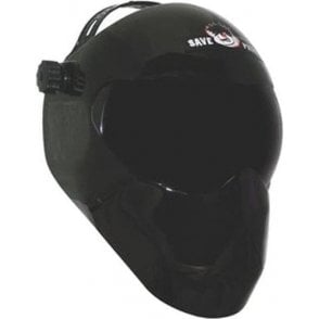 Save Phace EFP Welding Mask Old School Black Out (Fixed Shade 10 Lens)