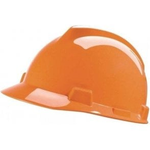 MSA V-Gard Safety Helmet with Fas-Trac Harness