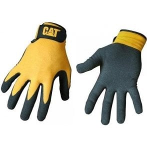 Caterpillar 17416 Nitrile Coated Shell Gloves