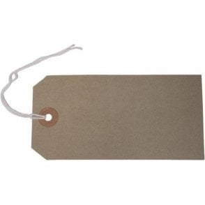 Buff Strung Tags (Pack of 1000)