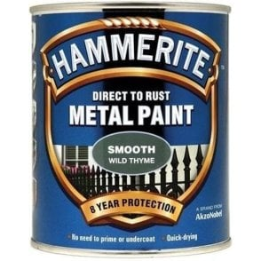 Hammerite Direct to Rust Metal Paints Smooth Finish