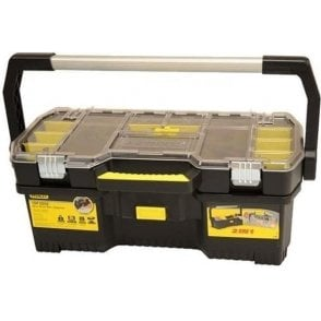 Stanley Toolbox with Tote Tray Organiser (24-Inch)