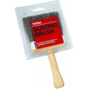 Grey Bristle Dusting Brush 100mm