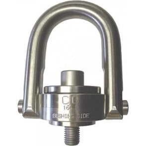 Crosby SS-125M Stainless Steel Swivel Hoist Ring (ASTM F837)