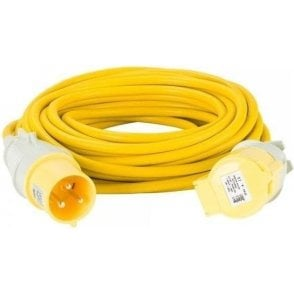 Extension Cable Plug and Socket 4.0mm x 14m 32Amp 110V