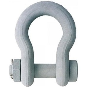 Crosby G2130CT Cold Tuff Shackles with Nut and Bolt Pin (Fed RR-C-271F)