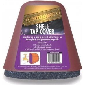 Stormguard Shell Tap Cover for Frost Freeze Protection