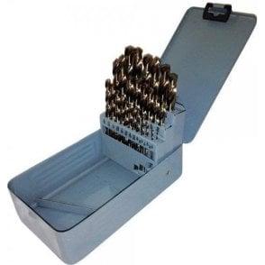HSS Cobalt Imperial Jobber Drill Set 1/16.12-Inch x 1/64-Inch (29 Piece)