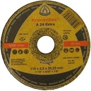 Klingspor Stainless Steel Cutting Disc (Depressed Centre)
