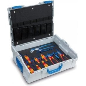 Sortimo L-Boxx 136 with Gedore Electrician Tools and Tool Card