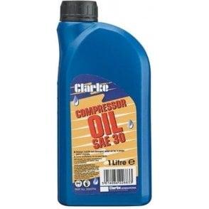 Clarke Long Life Compressor Oil SAE30 5ltr