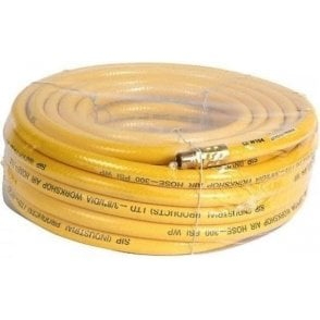 SIP Air Line Compressor Hose with Quick Release Fittings 50ft