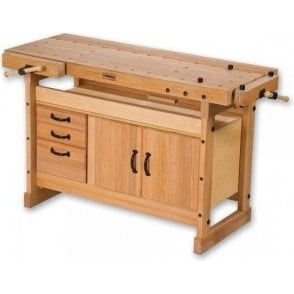 Sjobergs Duo 1500 Woodworking Bench with Storage Module SM03