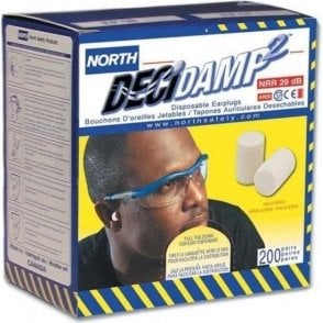 North Decidamp Ear Plugs (200 Pairs)