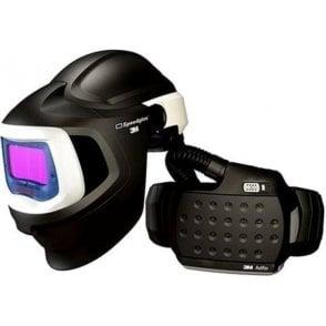 3M Speedglas Welding Helmet 9100MP with Welding Filter 9100X and Adflo Respirator