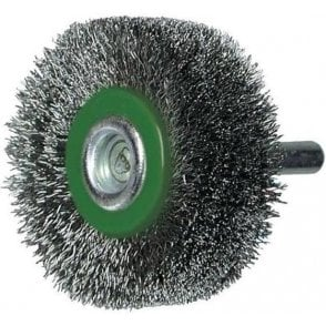 Stainless Steel Wire Finish Circular Brush 160mm x 13mm x 30mm