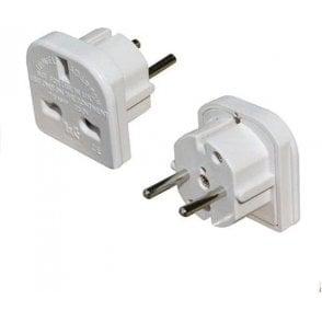 2 Pin Euro Travel Adaptor Plug