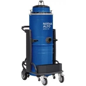 Attix 125 Single Phase Industrial Vacuum Cleaner with Industrial Floor Kit