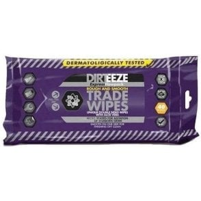 Dirteeze Rough and Smooth Heavy Duty Wipes (Pack of 40)