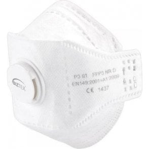 Portwest Eagle Valved Dolomite Fold Respirator (Pack of 10) (P391)