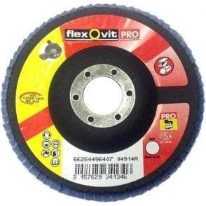 Flexovit Pro Zirconium Flap Disc