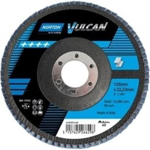Norton Vulcan Zirconium Flap Disc