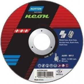 Norton Neon Flat Cutting Disc