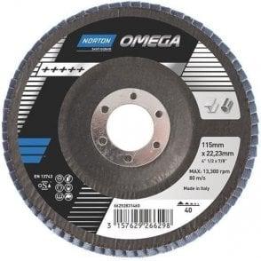 Norton R828 Zirconia Flap Disc (Pack of 10)