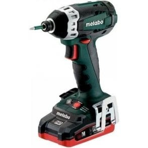 Metabo Impact Driver SSD 18 LTX 200 (with Charger and 2 x 3.5Ah LiHD Batteries in Carry Case)