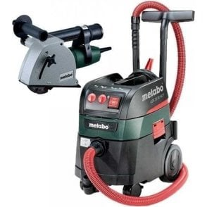 Metabo Wall Chaser MFE30 ASR 35 M ACP Vacuum 110V (with 2 x Diamond Cutting Disc)