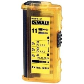 Dewalt Screwdriver Bit Set DT7916 (11 Piece)
