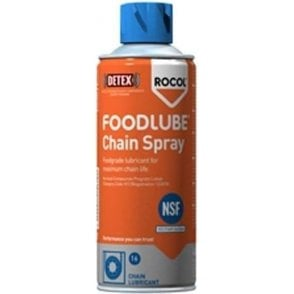 Rocol Aerosol Foodlube Chain Lubricant Spray 400ml