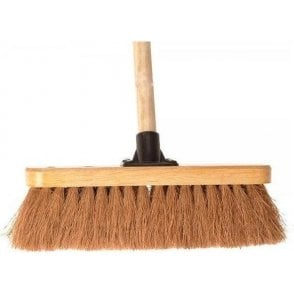 Faithfull Broom Coco Head 300mm with 1220mm Handle