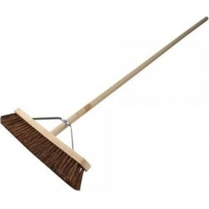 Faithfull Broom Stiff Bassine 450mm with Handle and Stay