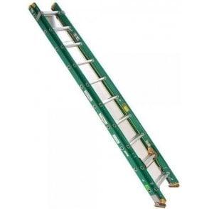 Lyte 2-Section Trade Fibreglass Extension Ladder GFLT230